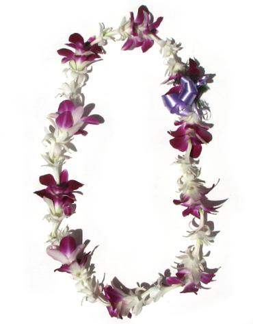 Lei - Orchid and Tuberose