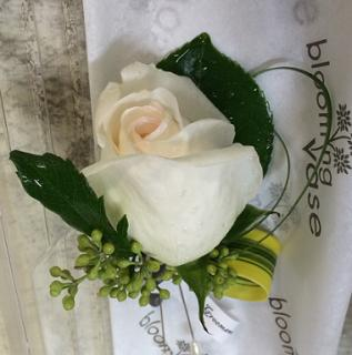 Boutonniere - Single Rose
