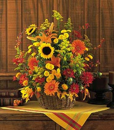 Signature Fall Basket