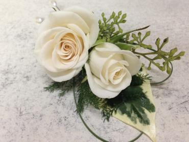 Boutonniere - Double Rose